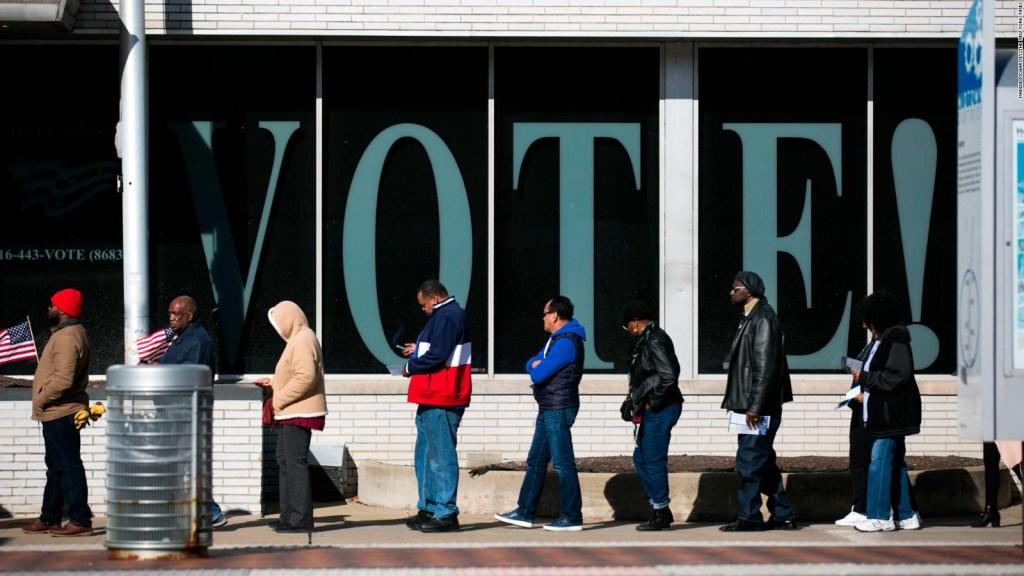 Las elecciones intermedias dejan números récord a pocas horas del día definitivo
