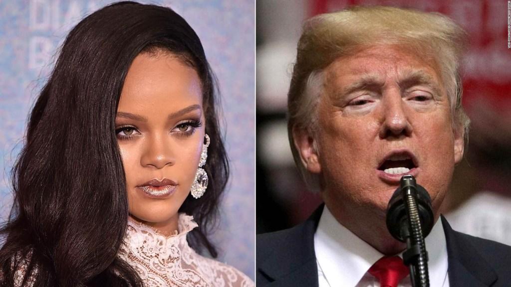 Rihanna no quiere que Trump use su música