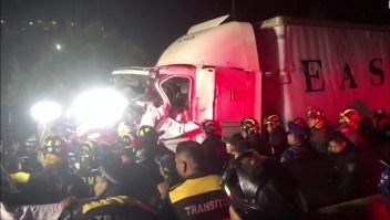 Al menos 10 muertos por embestida de tráiler en Ciudad de México