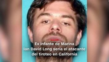 #MinutoCNN: Ex infante de Marina, sospechoso del tiroteo en California