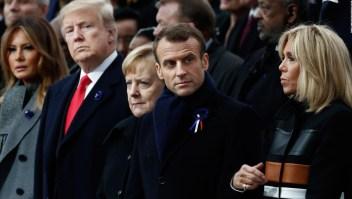 Conmemoran con un histórico encuentro el Armisticio de 1918 en París