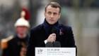 Macron reprende al nacionalismo mientras Trump observa el Día del Armisticio en París