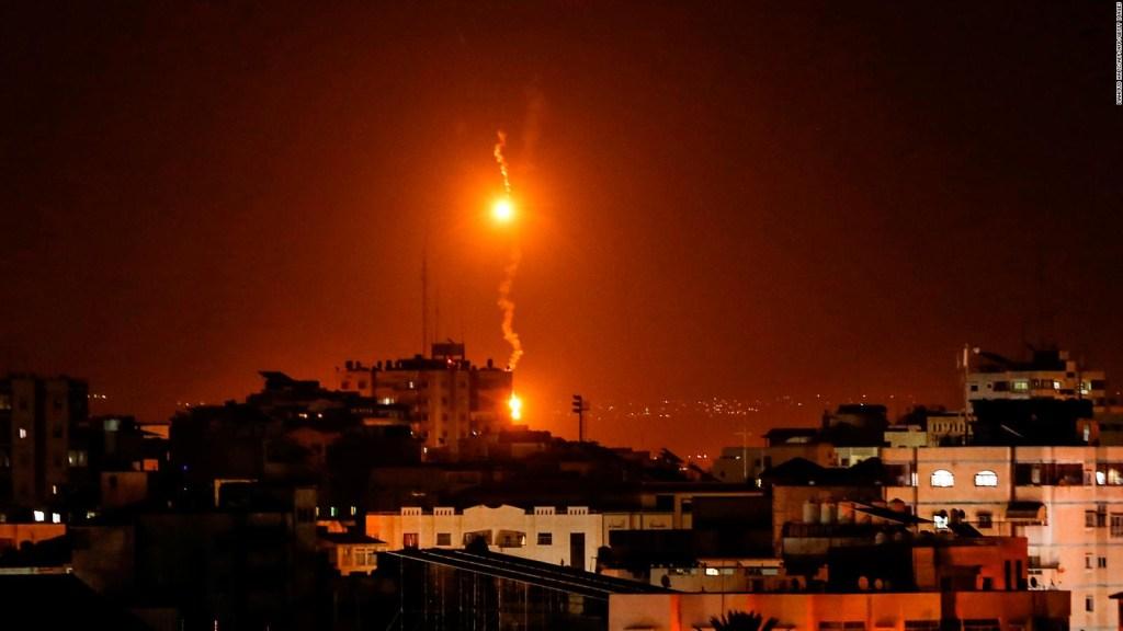 Ataque en Gaza por la presencia de una unidad secreta del comando israelí