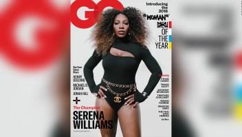 : Polémica por la portada de Serena Williams como mujer del año