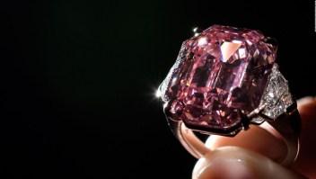 Este es el diamante más caro del mundo