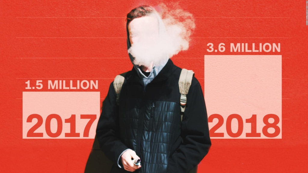 Aumenta el uso de cigarrillos electrónicos entre adolescentes a 80%
