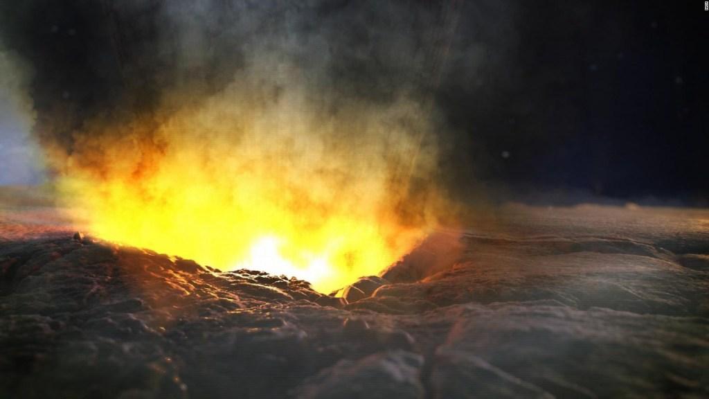 Descubren cráter de hace miles de años