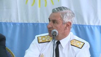 Jueza argentina indicará cuándo se removerán restos del ARA San Juan