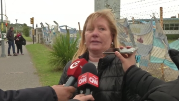 Dolor entre las familias de los tripulantes del ARA San