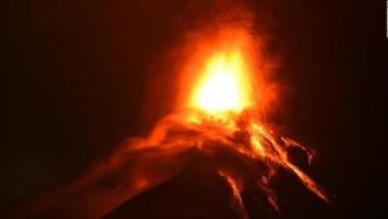Desalojos decretados por nueva amenaza del Volcán de Fuego