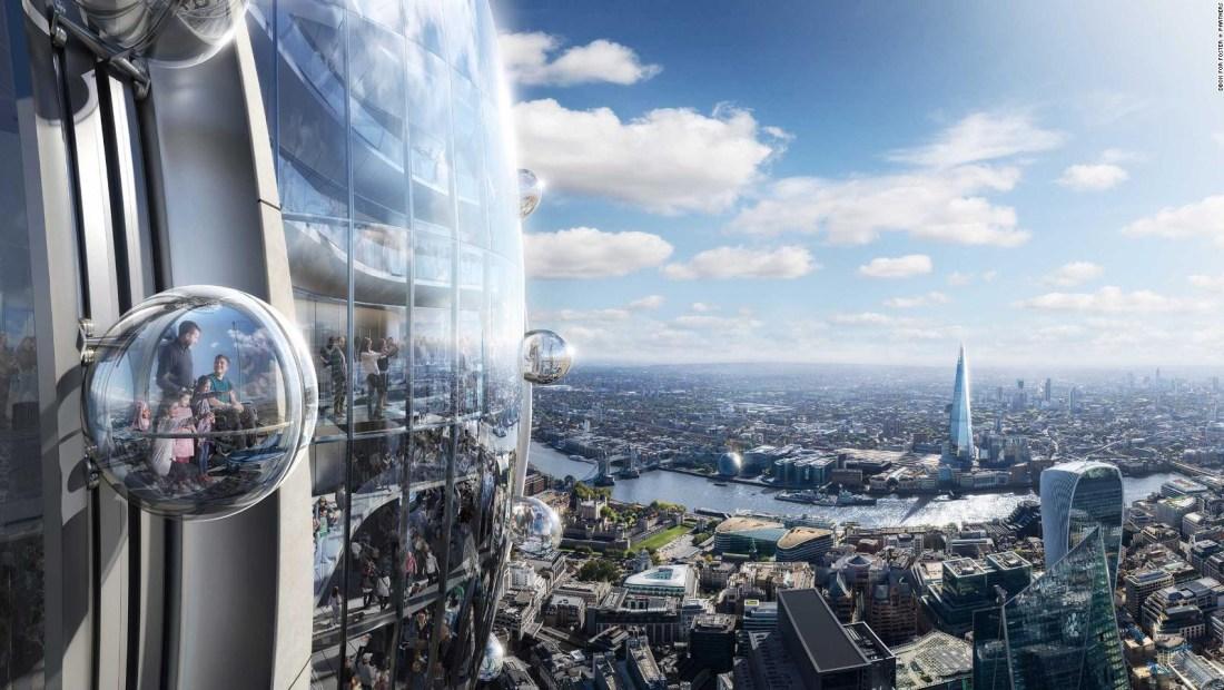 La construcción del rascacielos Tulip preocupa al aeropuerto de Londres