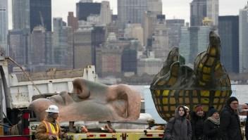 La antorcha original de la Estatua de la Libertad tendrá un nuevo hogar