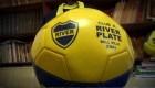 Un club se llama River, pero tiene los colores de Boca Juniors