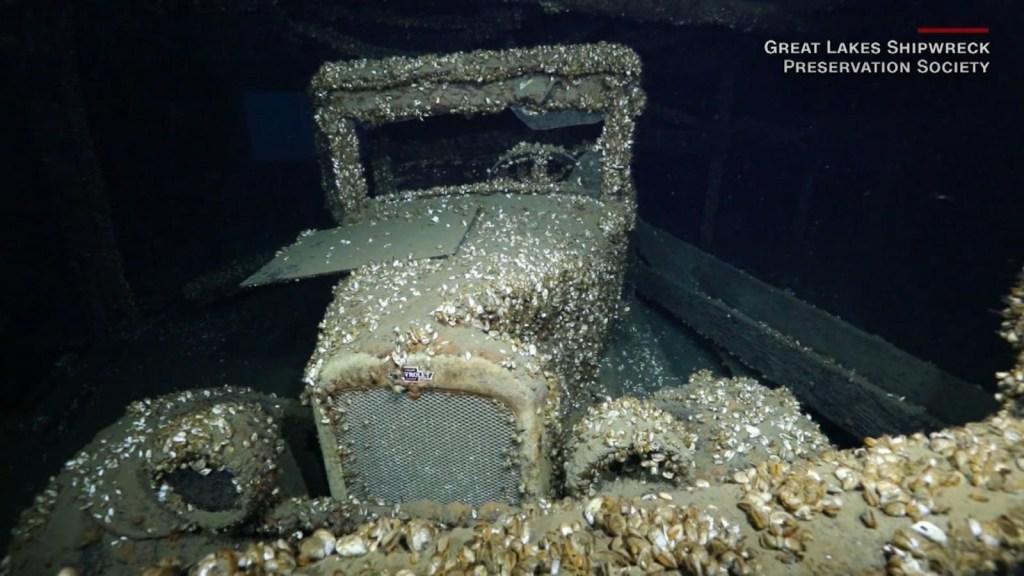 Este auto clásico sobrevivió a un naufragio y al tiempo