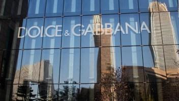 Dolce & Gabbana lamenta escándalo en China