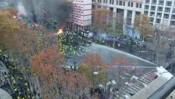 Una semana de protestas contra el gobierno en Francia