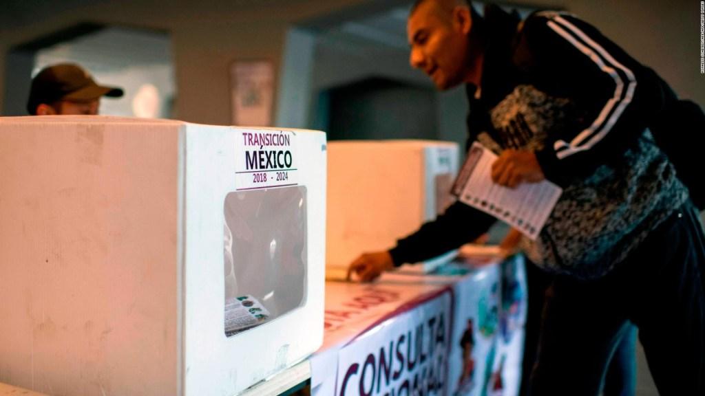 Mexicanos votan sobre proyectos que impulsa AMLO