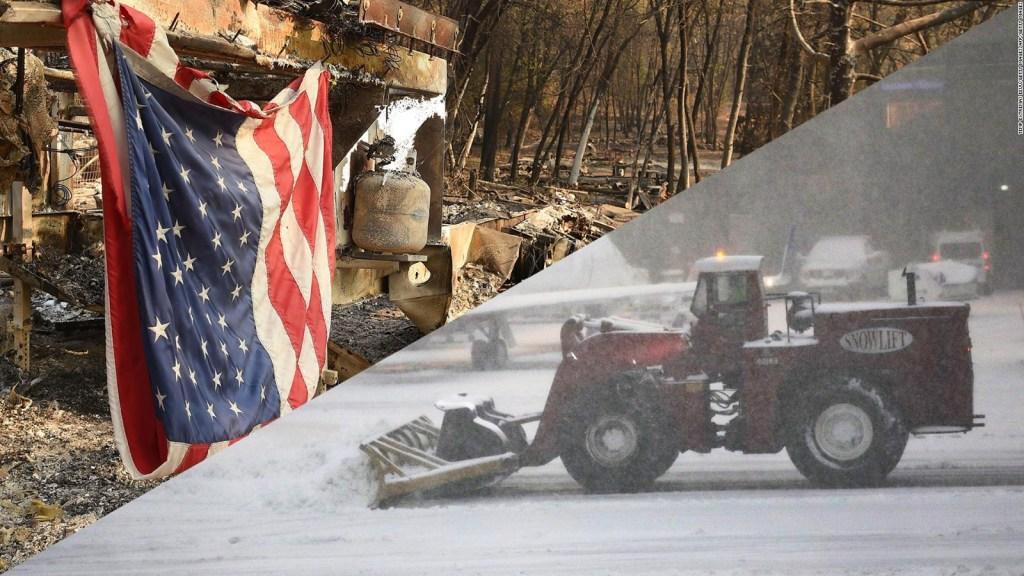 Parte de EE.UU. respira con alivio, mientras otra está bajo alerta invernal