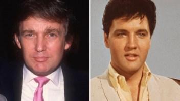 Trump dijo que de joven se parecía a Elvis
