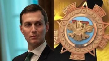 ¿Por qué México dará la Orden del Águila Azteca a Jared Kushner?