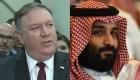 Pompeo sigue defendiendo al príncipe saudí en caso Khashoggi