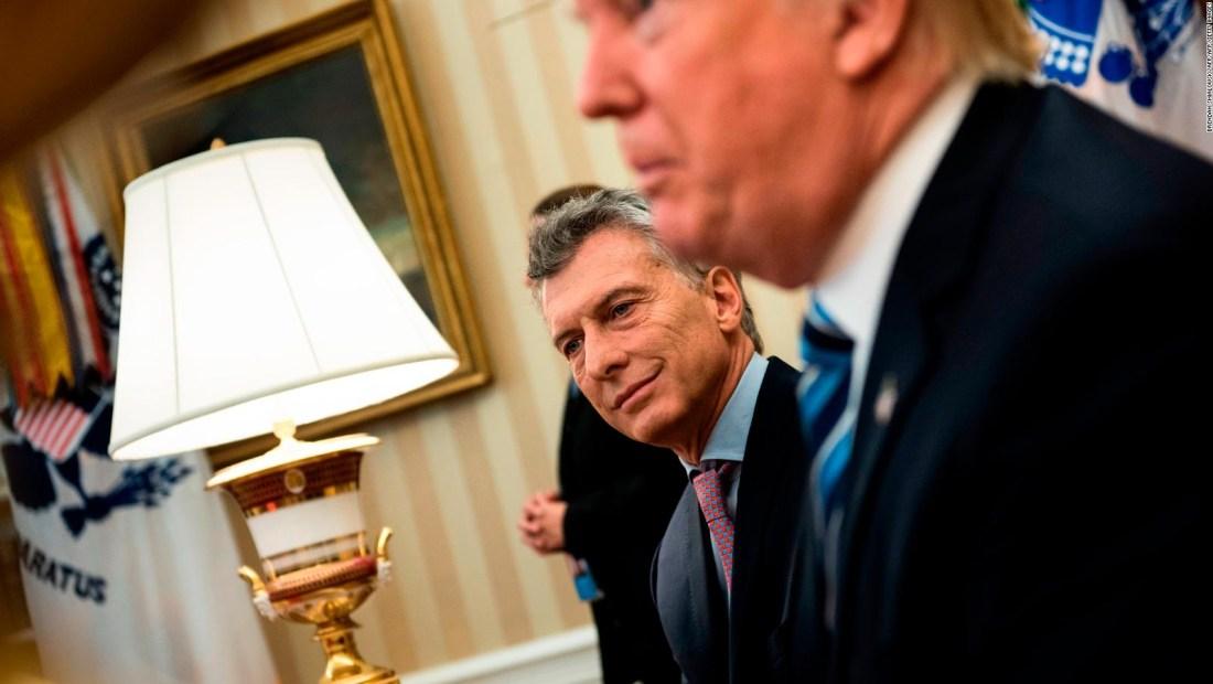 ¿Cuál sería la situación de Argentina sin el apoyo de EE.UU.?