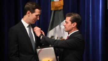 G20: Kushner recibe la Orden del Águila Azteca