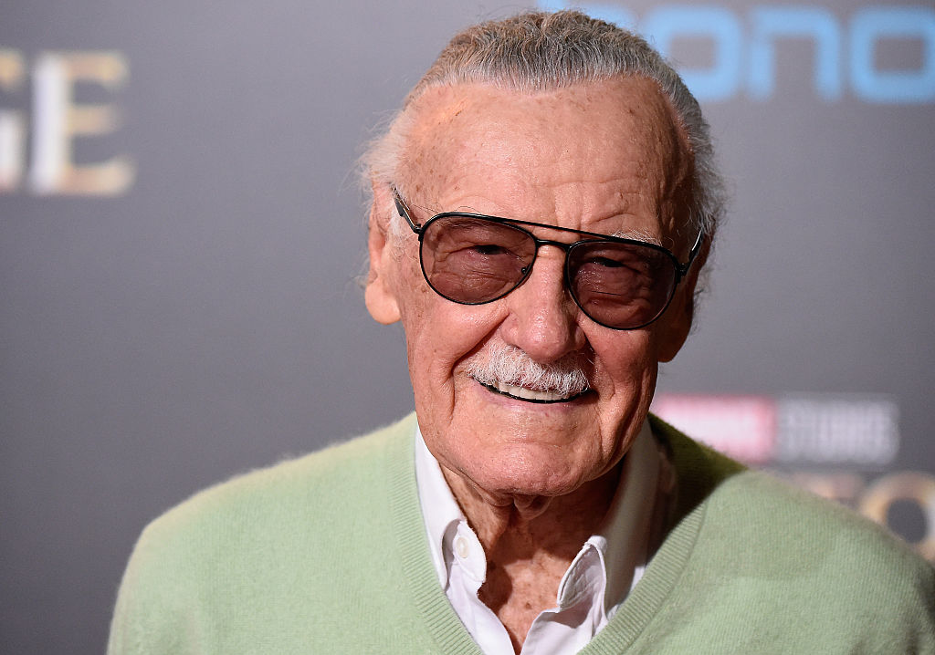 """HOLLYWOOD, CA - OCTOBER 20: Stan Lee attends the Premiere of Disney and Marvel Studios' """"Doctor Strange"""" on October 20, 2016 in Hollywood, California. (Photo by"""