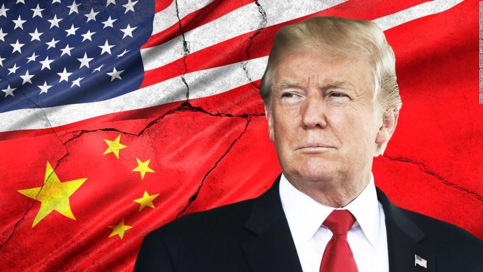La guerra comercial entre Estados Unidos y China.