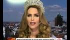 Lo que significa Miss Universo para Ángela Ponce