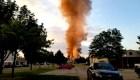 Una explosión mata a un bombero en Wisconsin