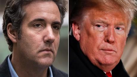 "Trump contrató a Cohen porque era ""un buen tipo"""
