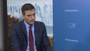 Pedro Sánchez: Estamos muy cerca de llegar a acuerdos entre la UE y el Mercosur