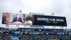 Los emotivos funerales para honrar al expresidente George H. W. Bush