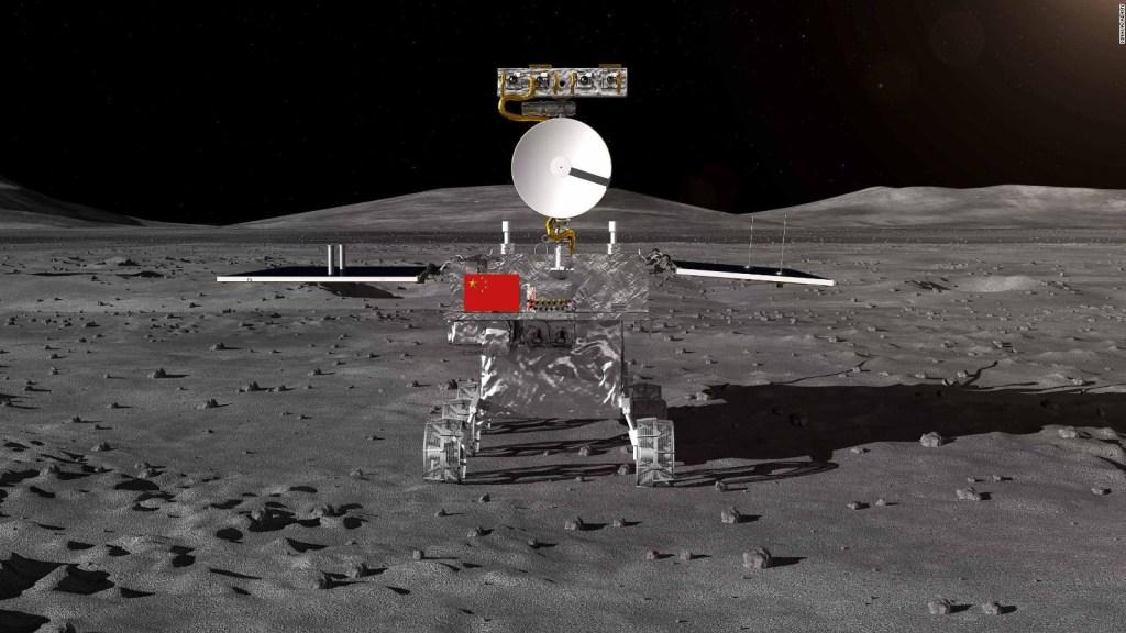 China explora la cara oculta de la Luna