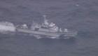 Búscan desaparecidos tras chocar dos aviones de EE.UU. en Japón