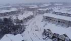 Así se ve Carolina del Norte cubierta en nieve