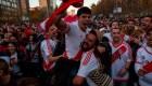 River celebra el triunfo de la Copa Libertadores