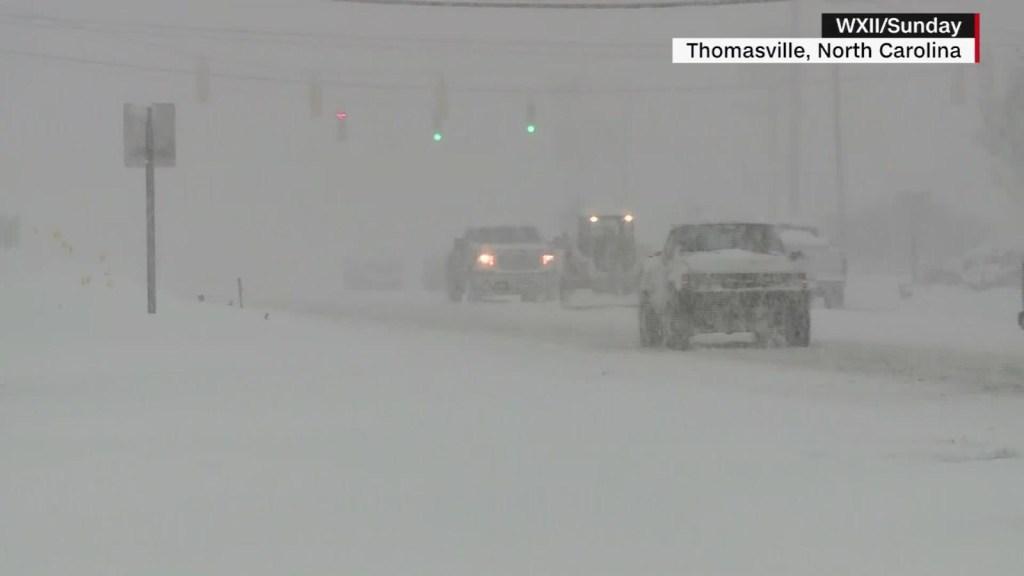 Un muerto por tormenta invernal en EE.UU.