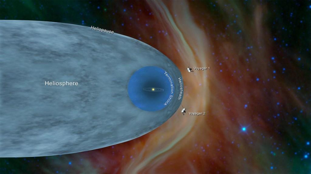 La sonda Voyager 2 de la NASA alcanzó el espacio interestelar