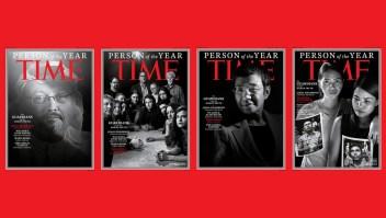 Periodistas, el personaje del año de Time