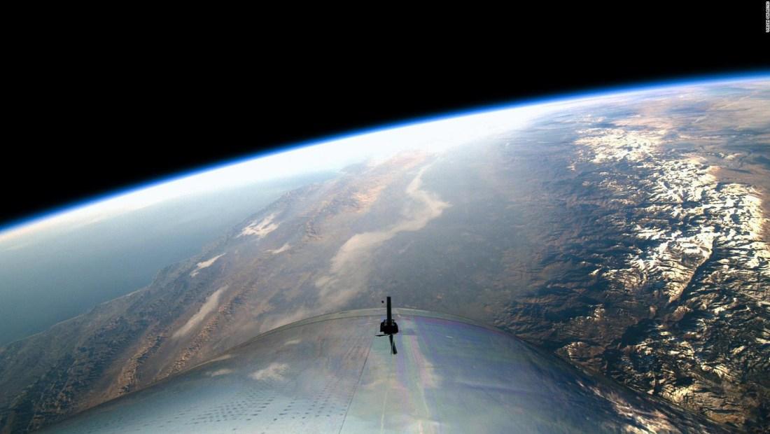 El exito de Virgin Galactic posibilitaría el turismo espacial en tan solo meses