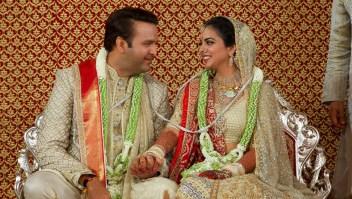 Así fue la boda de la hija del hombre más rico de la India