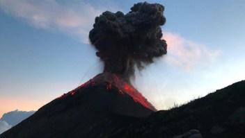 #LaImagenDelDía: impresionantes imágenes del Volcán de Fuego
