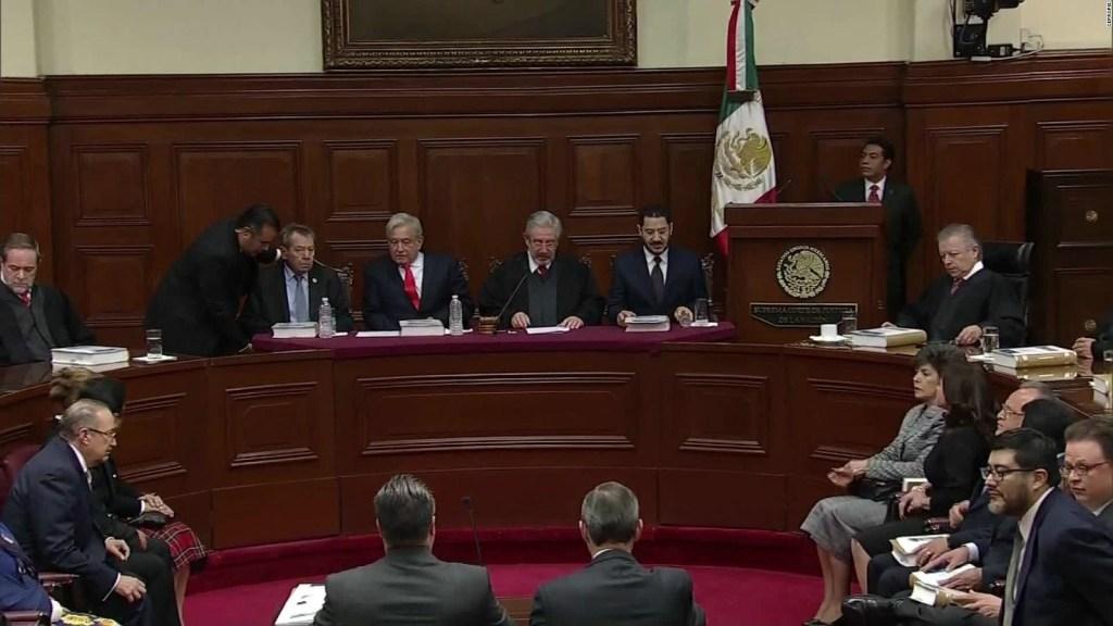 Pugna entre poderes Judicial y Ejecutivo en México