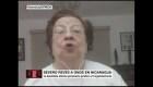 "Vilma Núñez: ""Ortega lo tiene todo perdido"""