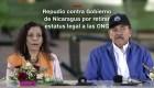 #MinutoCNN: Gobierno de Nicaragua retira estatus legal a varias ONG