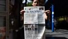 """Luis Fajardo: Cierre de """"El Nacional"""" es un hecho muy notorio"""