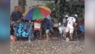 Fuerte tormenta de granizo azota un complejo turístico en Sudáfrica