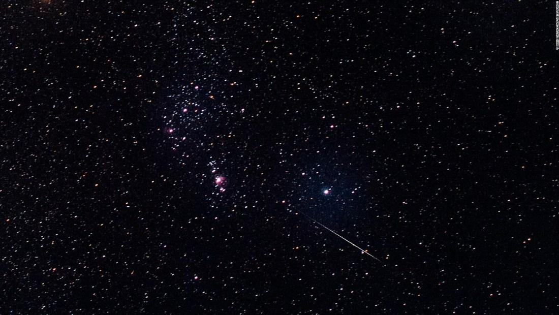 Llegó la temporada los meteoros de las gemínidas